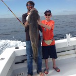 Destins First Cobia Caught 3-21-14