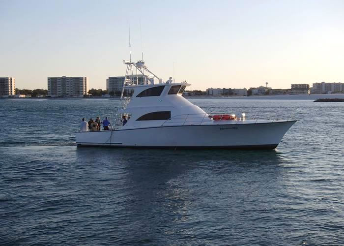 destin florida private charter boats family deep sea bay